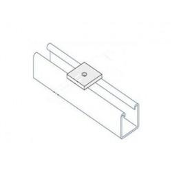 Channel bracket flat