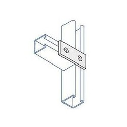 2 HOLE FLAT PLATE BRACKET HDG (BOX OF 50 PCS)