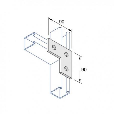 BRACKET- 3 Hole