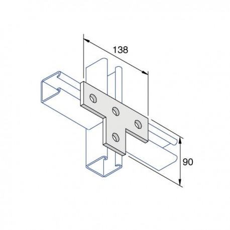 BRACKET- 4 Hole HDG (BOX OF 25 PCS)