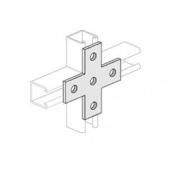 Channel Bracket Flat Cross HDG (BOX OF 25 PCS)