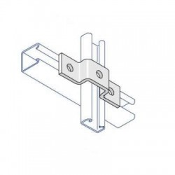 Channel Bracket Bridge Shallow AI-029 HDG (BOX OF 50 PCS)