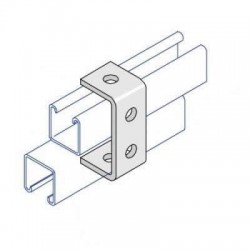 Double Channel C Bracket AI-033 HDG (BOX OF 25 PCS)