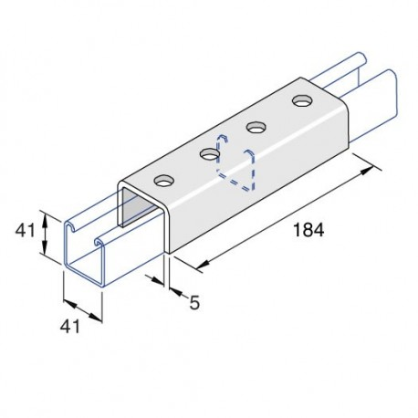 Channel Coupler External Deep