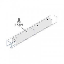 Internal Joint Plate 41x41 AI-051 HDG (BOX OF 25 PCS)