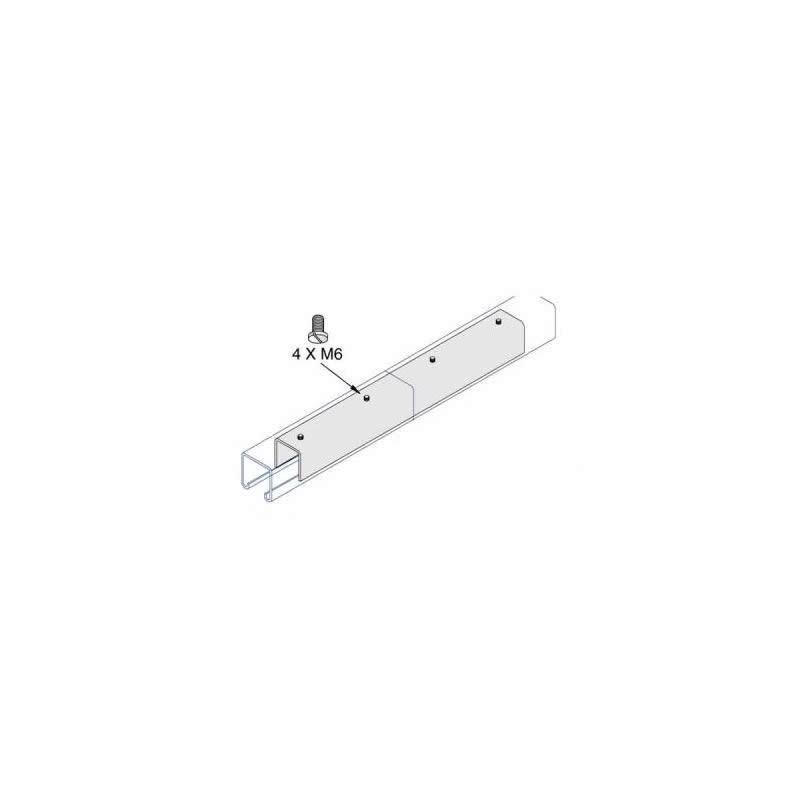 internal joint plate 41x41 ai 051 hdg box of 25 pcs unimetal. Black Bedroom Furniture Sets. Home Design Ideas