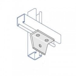 RIGHT ANGLE DELTA PLATE ONE HOLE TWO HOLE HDG AI019 (BOX OF 25 PCS)