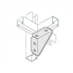 RIGHT ANGLE GUSSETED TWO HOLE TWO HOLE HDG AI020 (BOX OF 10 PCS)