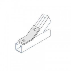 OBTUSE ANGLE BRACKET HDG AI022 (BOX OF 25 PCS)