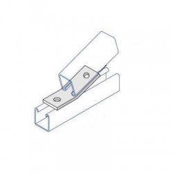 OBTUSE ANGLE BRACKET HDG AI023 (BOX OF 25 PCS)
