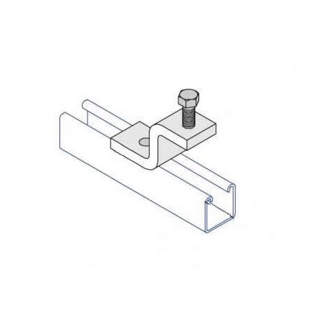 BEAM CLAMP WITH CONE POINT HDG