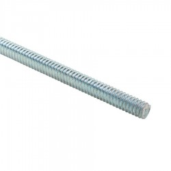THREADED ROD M10×2 MTR BZP (BOX OF 25 PCS)