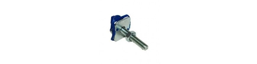CHANNEL NUT WITH BLUE PLASTIC