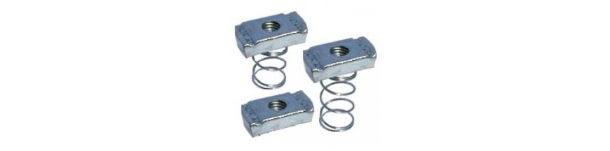 M-6 CHANNEL NUTS