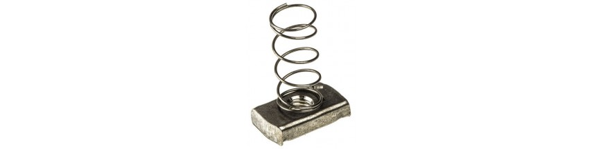 M-12 LONG SPRING CHANNEL NUT